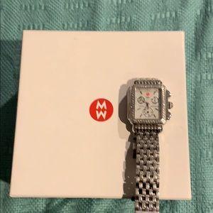 Michele Deco Diamond Watch MOP